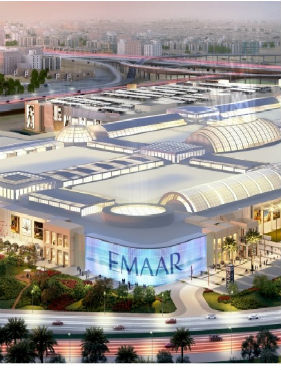Dubai Hills Mall Skylights & Roofing Package