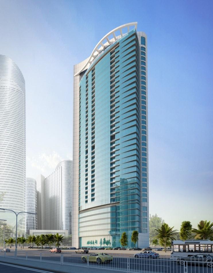Cornish Tower in Abu Dhabi